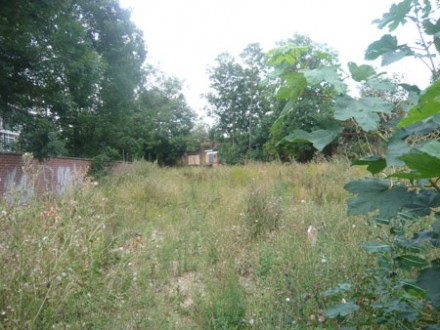 This site on Loughborough Road will soon be used for community food growing.